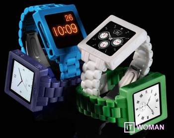 Носи Ipod Nano на запястье, как часы