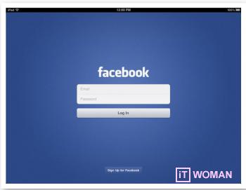 Facebook выпустил приложение для iPad