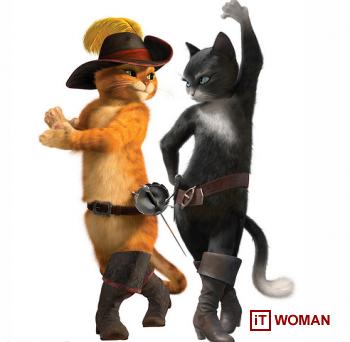 """Технология HP в технически сложном мультике """"Кот  в сапогах"""""""