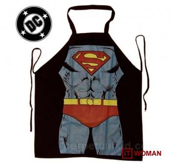 Мужчина и фартук Супермена