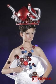 Модный показ кондитерских изделий в Японии