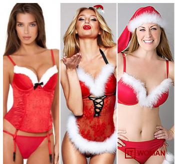 Санта отдыхает: шикарное белье для новогодней ночи!