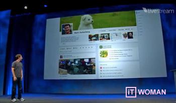 Марк Цукерберг представил новую функцию Timeline