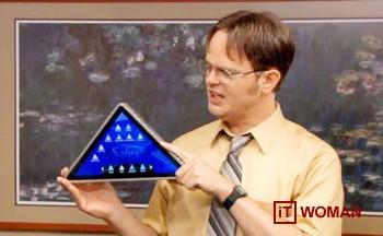 Как насчет треугольных планшетов?
