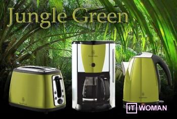 Новая коллекция бытовой техники Jungle Green Russell Hobbs