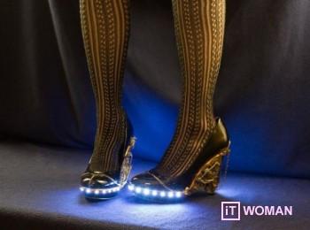 Туфли с подсветкой