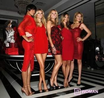 Красный цвет усиливает Вашу привлекательность!