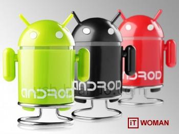 MP3-плеер в виде робота Android