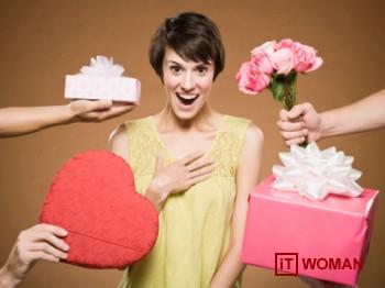 Что женщины делают с подарками?