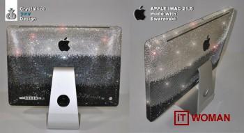 Apple iMac c 25000 кристаллами Swarovski