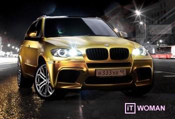 Паркуюсь, где хочу! Золотой BMW X5