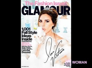 Виктория Бекхэм - главный редактор журнала Glamour