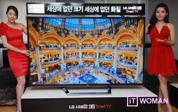 LG представляет первый в мире 84-дюймовый 3D телевизор с бескомпромиссным качеством изображения