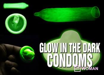 Светящиеся презервативы!