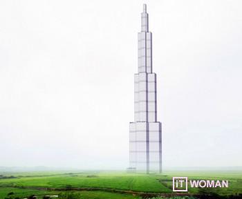 Китайцы построят самый высокий небоскреб в мире всего за 210 дней