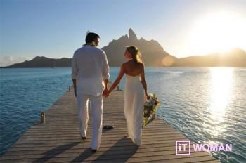 Выиграй эксклюзивную свадьбу на Бора-Бора!