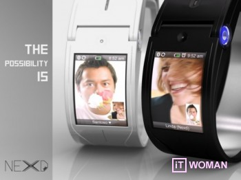 Футуристические часы на Android