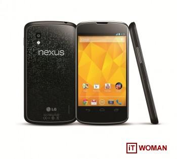 LG и Google анонсировали смартфон Nexus 4