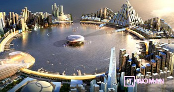 Корея построит город Будущего за $264 млрд.