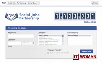 Facebook запускает приложение для поиска работы!