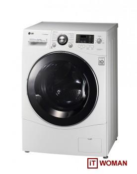 Cтиральная машина не только стирает, но и сушит белье!
