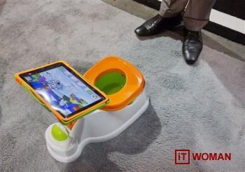 iPotty - детский горшок с планшетом