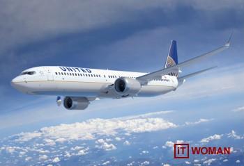 United Airlines предлагает Wi - Fi на международных рейсах