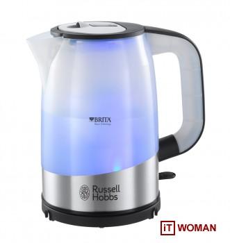 Новинка от Russell Hobbs - чайник со встроенным фильтром очистки воды