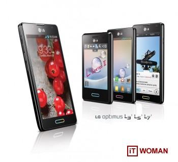 Смартфоны LG L-Style второго поколения