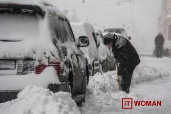 Итоги снежного апокалипсиса в Киеве