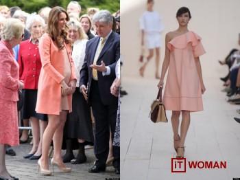 Дизайнерские наряды для беременной Кейт Миддлтон