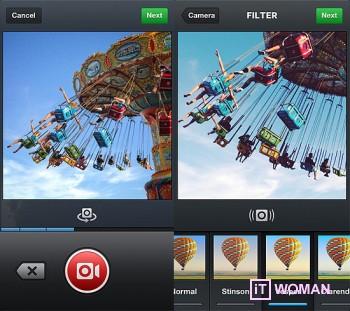 Instagram загружает 15-секундные видео!