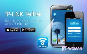 Приложение Tether для управления роутерами TP-Link