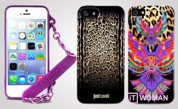 Стильные чехлы Cavalli для iPhone 5