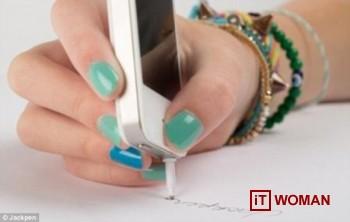 Как смартфоном писать на бумаге?