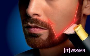 Триммер для бороды от Philips: стрижка с лазерной точностью