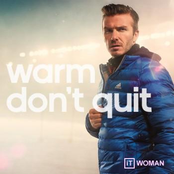 Зимняя спортивная одежда для тренировок от adidas