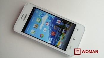 Бюджетный смартфон Huawei Ascend Y320