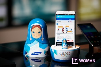 Samsung запускает приложение WOW в преддверии Олимпиады-2014
