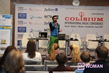 """Международная конференция """"Colisium"""": создавайте музыку вместе с Intel"""