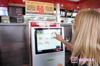 Создай собственный бургер в McDonald's