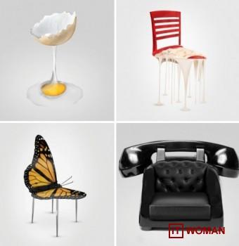 Креативные концепции для стульев