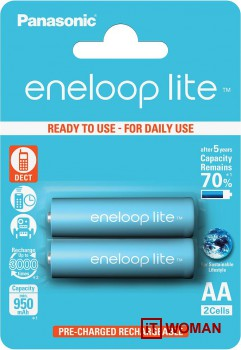 Модельный ряд батареек и зарядных устройств Eneloop