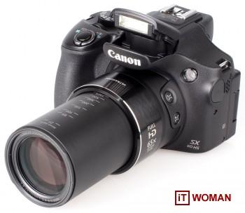Canon SX60 HS - фотоаппарат как для папарацци