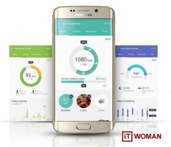 Samsung Galaxy S6 заботится о Вашем здоровье