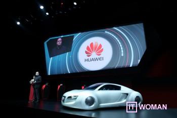 Huawei подключит к Интернету автомобили Audi