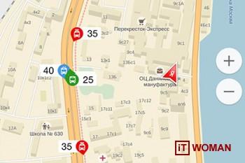 Яндекс.Транспорт поможет проследить за муниципальными маршрутками Киева