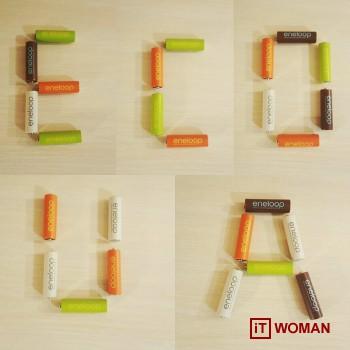 Eco-friendly батарейки Eneloop